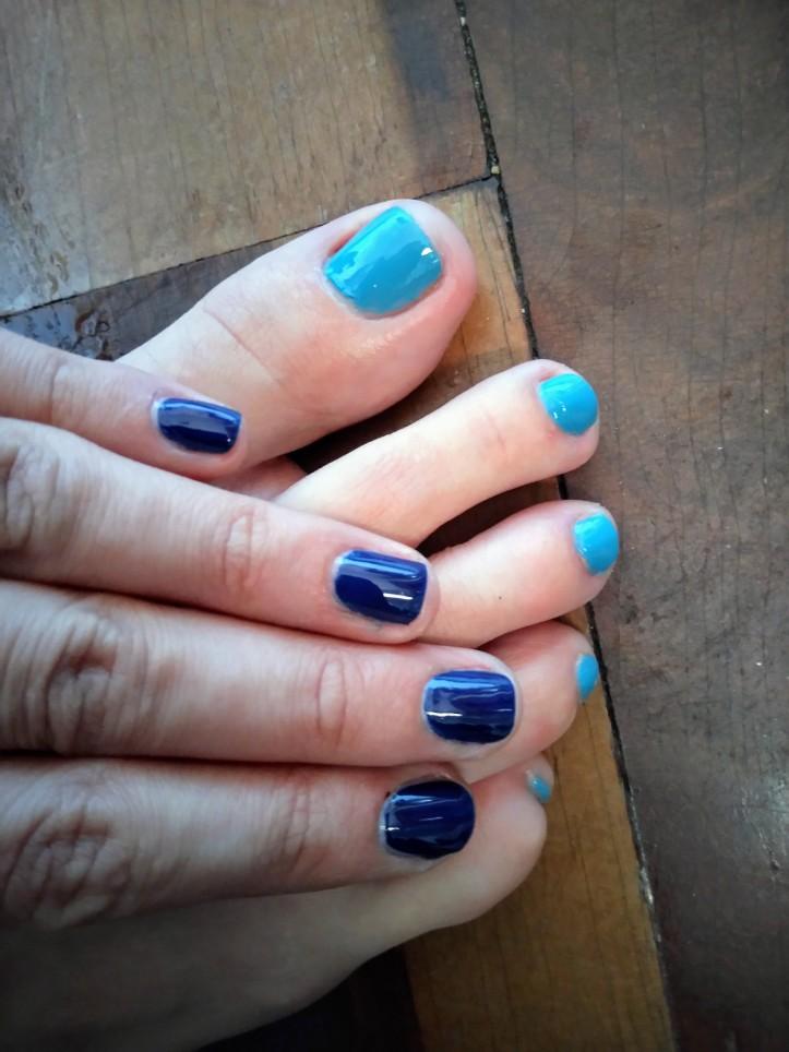 Esmaltes azuis